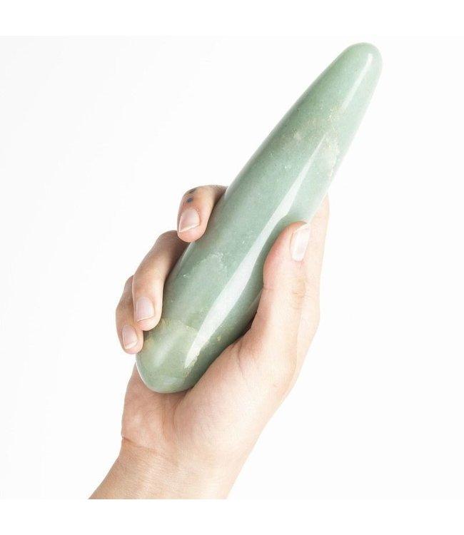 Chakrubs The Indian Jade Original Crystal Dildo