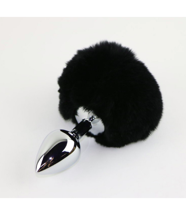 Black Rabbit Tail Plug