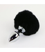 Black Rabbit Tail Plug