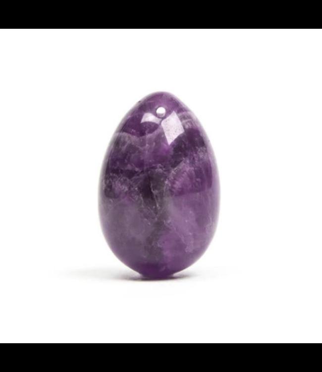The Amethyst Crystal Yoni Egg