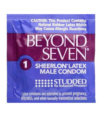 Beyond 7 Studded Condoms