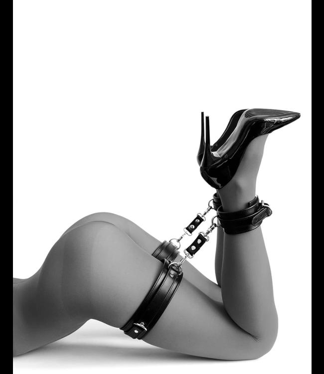 Black Mila Thigh Cuffs