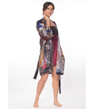Christine Silk Lingerie Silk Geisha Robe