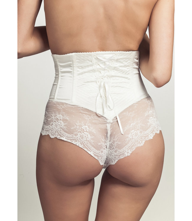 Cadolle Rachel White Lace Panty