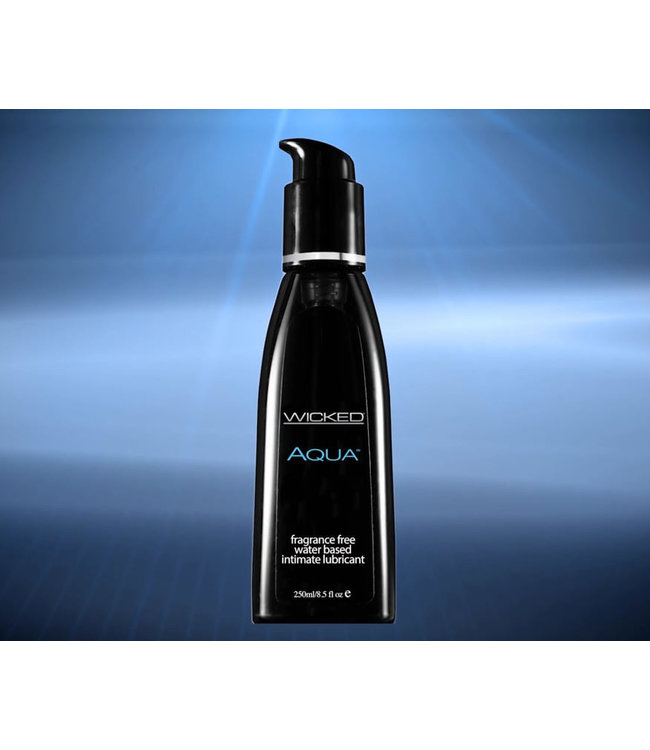 Wicked Aqua Fragrance Free Lubricant