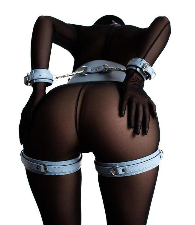 Blue Mila Thigh Cuffs