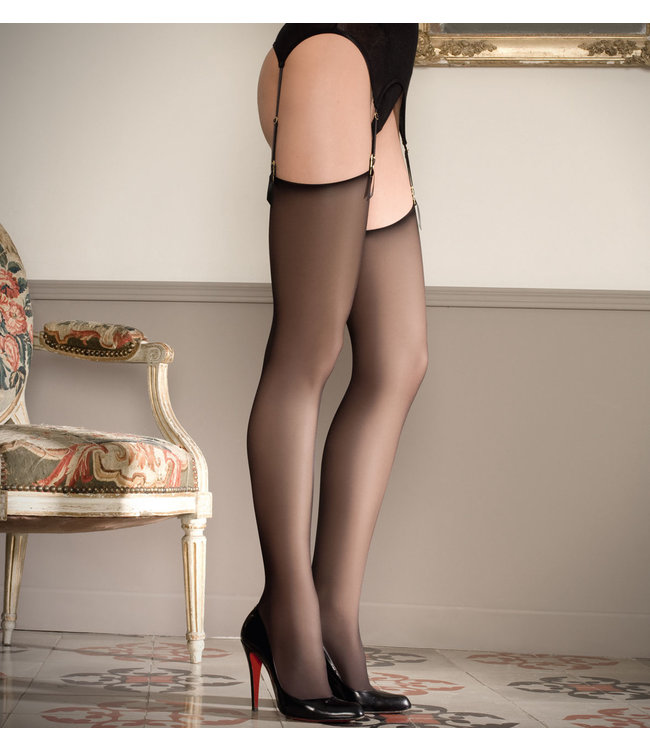 Maison Close Cut & Curled Thigh High Stockings