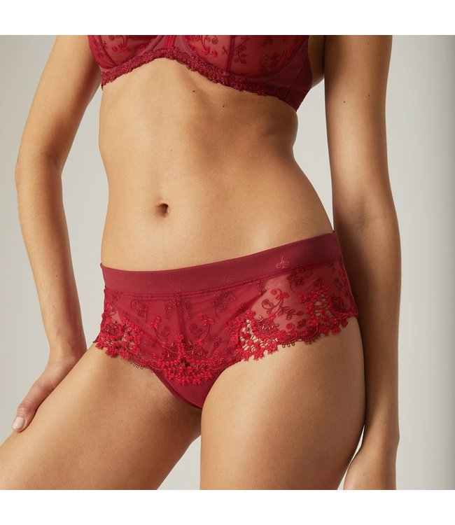Simone Perele Wine Wish Shorty