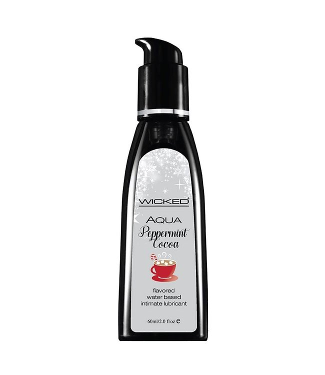 Wicked Peppermint Cocoa Flavoured Lubricant 2 oz