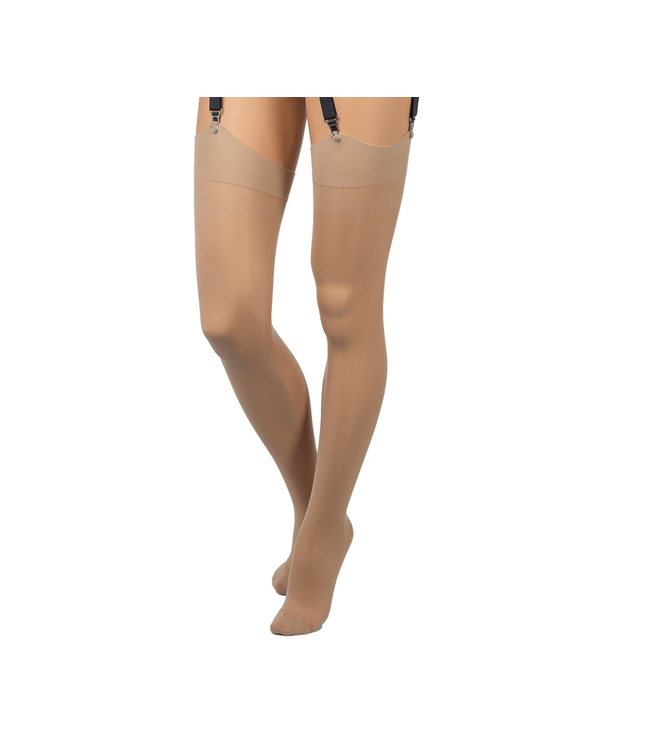 Sara Thigh High Stockings Nude
