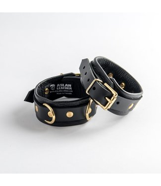 Aslan Leather Canada Aslan Black Panther Ankle Cuff