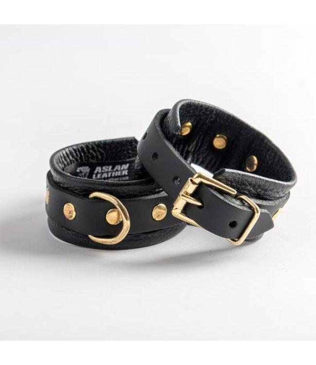 Aslan Leather Canada Aslan Black Panther Wrist Cuff