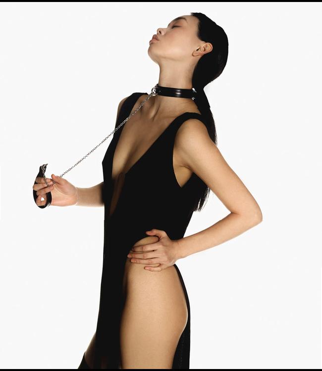 Mila Chain Leash Black