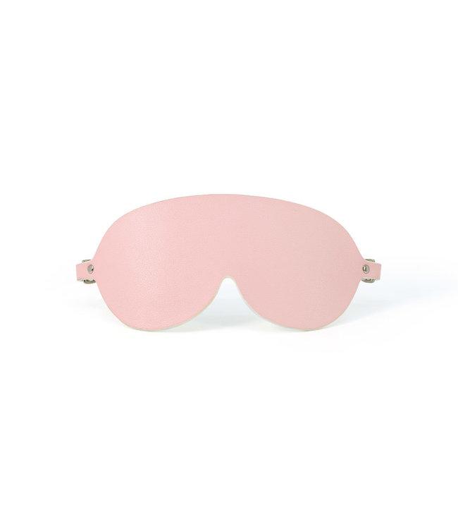 Jacksun Sigma Vegan Leather Blindfold Pink