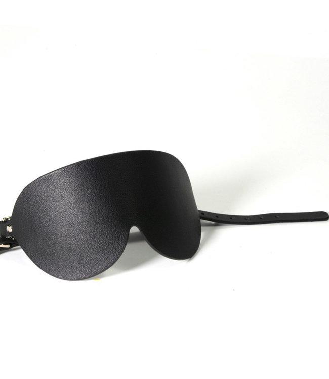 Sigma Vegan Leather Blindfold Black