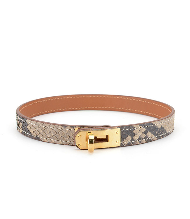 Snake Leather Collar