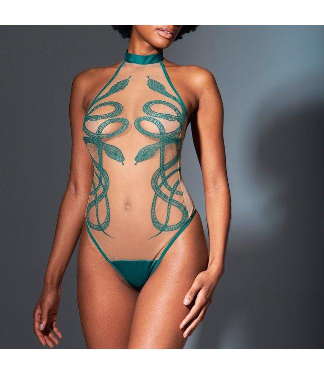 Thistle & Spire Medusa Bodysuit Chameleon