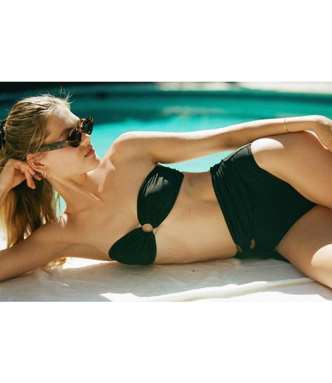 Icone Swimwear Bel Air Top Black