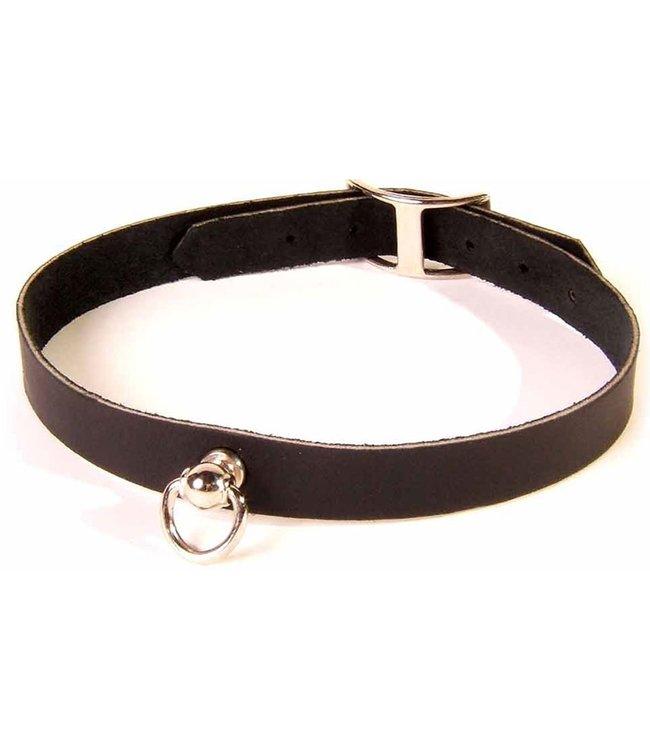 Sexy Plain Leather Collar