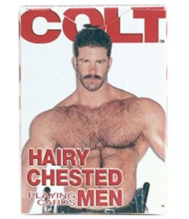 Hairy Chested Men Playing Cards