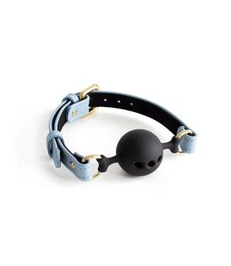 Dominus Blue Mila Breathable Ball Gag