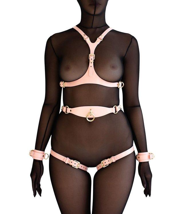 Pink Tessa Leather Harness