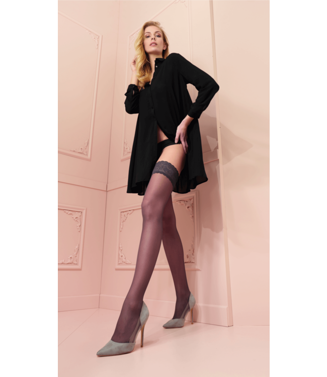 Rosy Stay Up Stockings Red