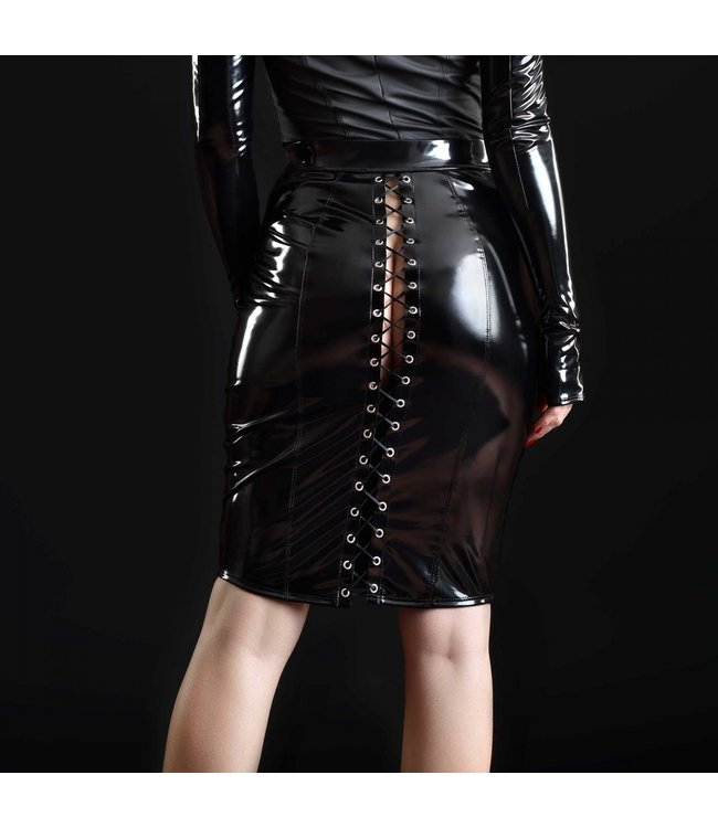 Katerine Vinyl Skirt