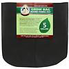 Premium Round Fabric Pots - Black