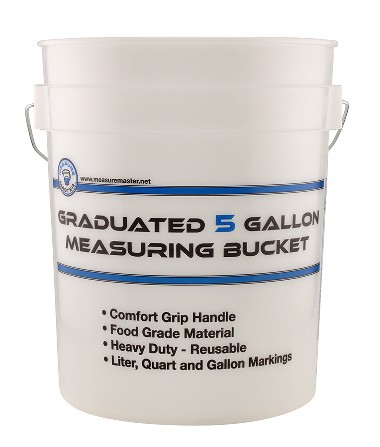 Graduated Measuring Bucket
