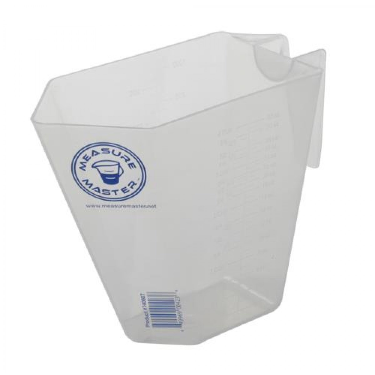 Graduated Rectangle Container