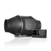 """*PRE-ORDER NOW* Cloudline T4, Quiet Inline Duct Fan System With Temperature and Humidity Controller, 4"""""""
