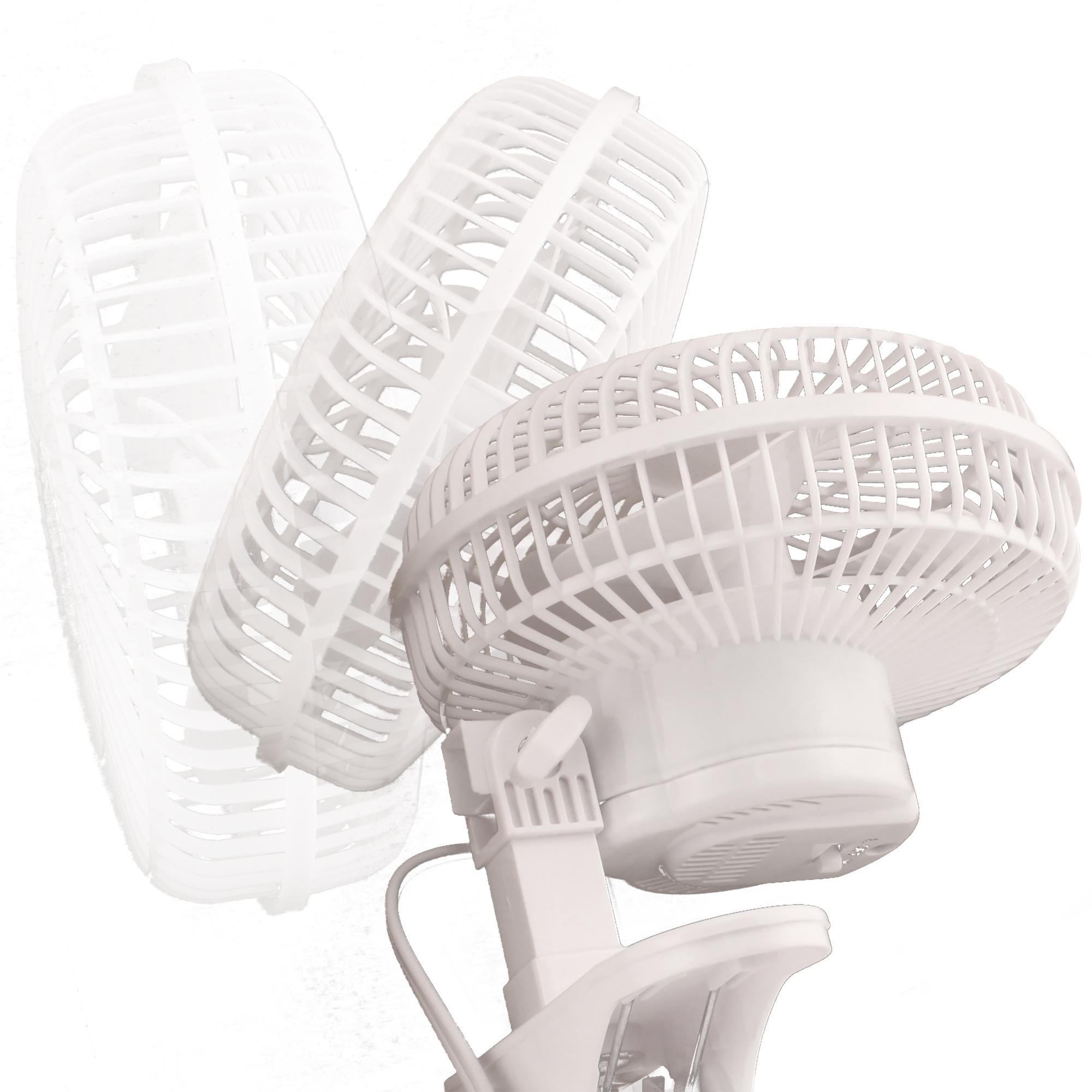 """6"""" Oscillating Clip Fan"""
