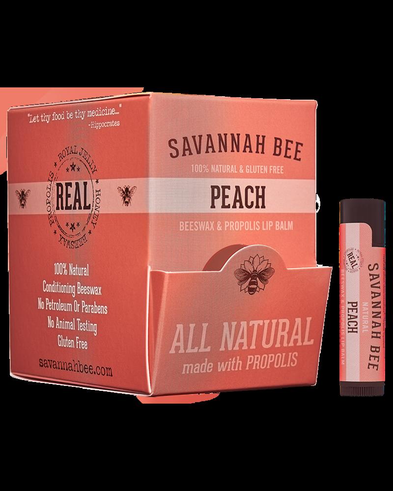 Savannah Bee Company Lip Balm Stick Peach