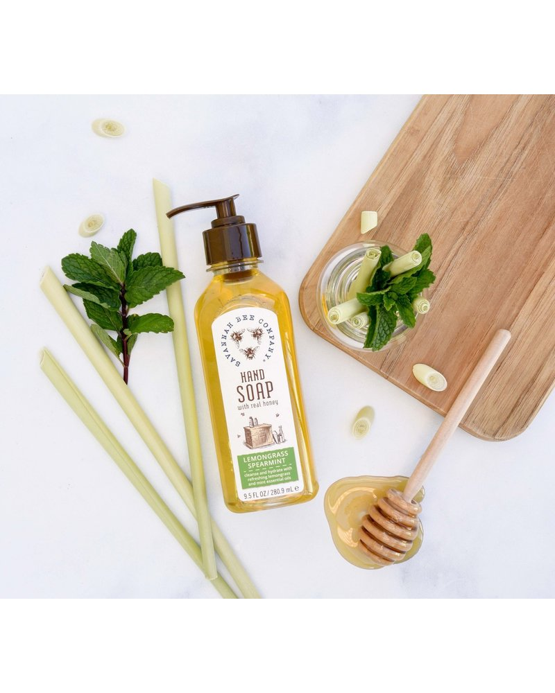 Savannah Bee Company Hand Soap Lemongrass Spearmint