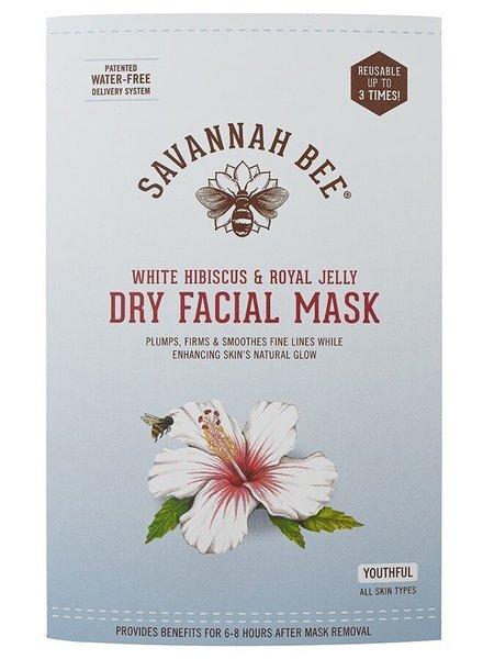 Savannah Bee Company Facial Mask Hibiscus/Royal Jel