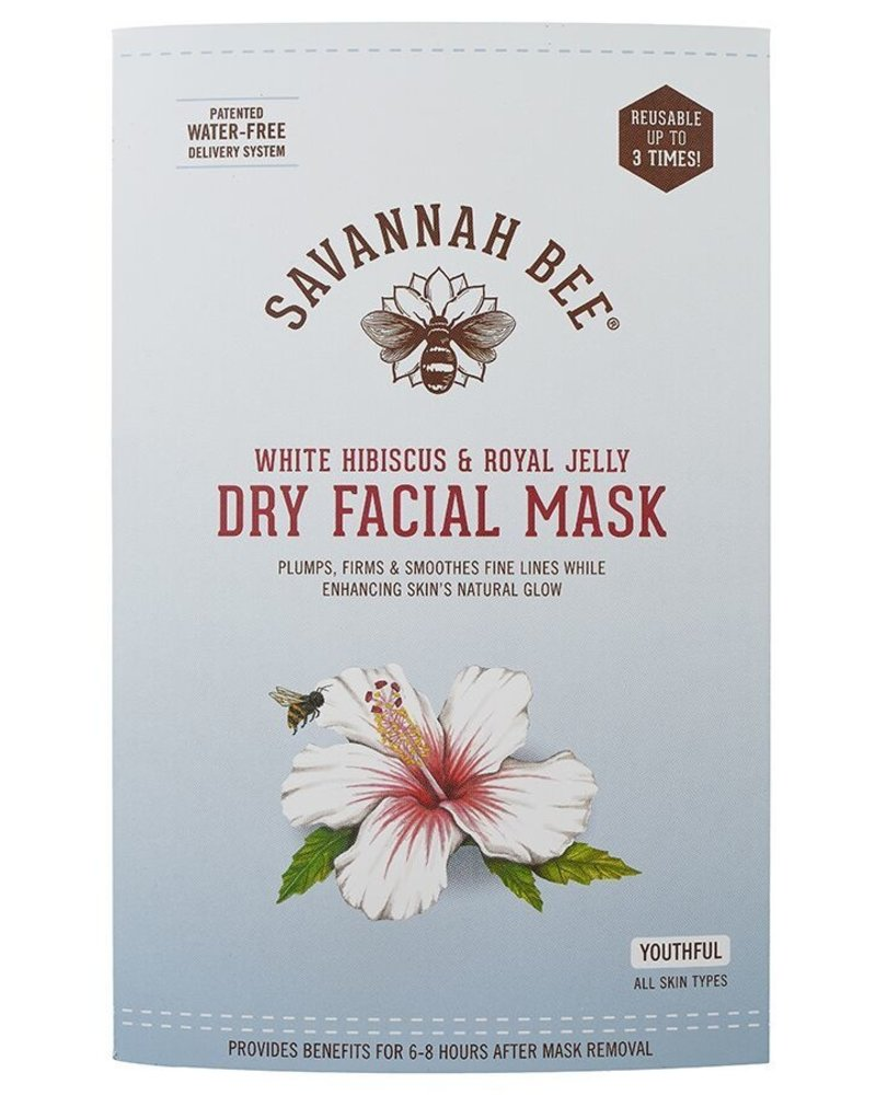 Savannah Bee Company Facial Mask Hibiscus/Royal Jel