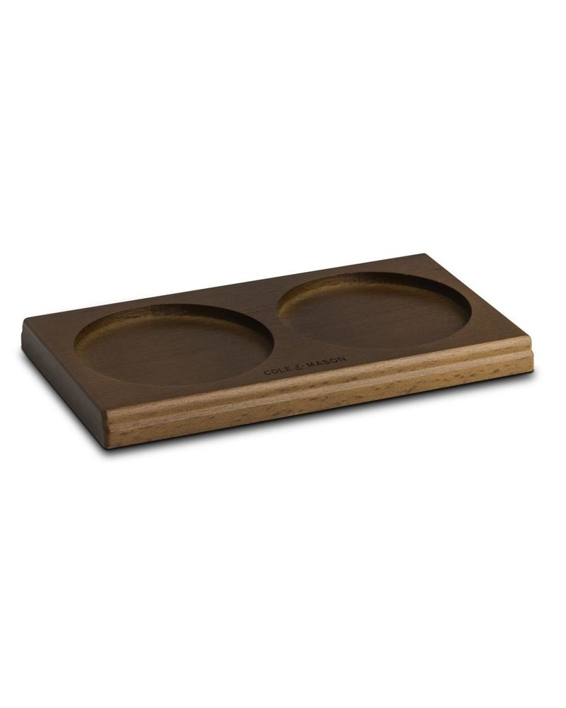 Cole and Mason S & P Mill Tray Wood