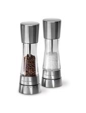 Cole and Mason Derwent Stainless Salt + Pepper Mill Set