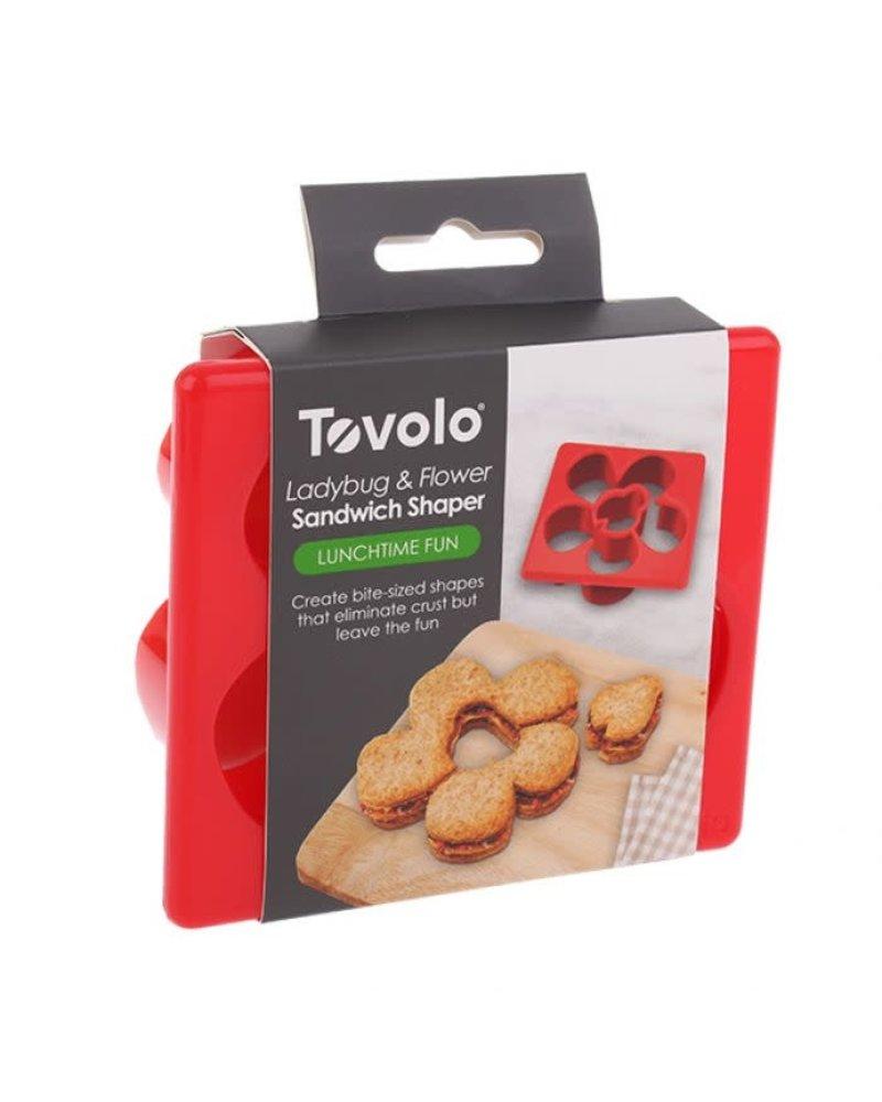 Tovolo Sandwich Shaper Bug & Flower