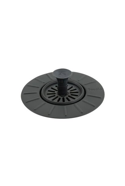 Sink Stopper/Strainer Charcoal