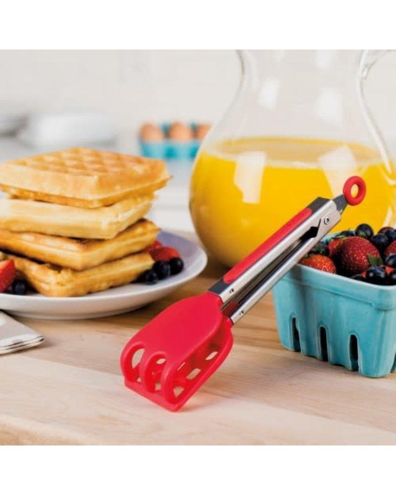 Tovolo Tongs Waffle Mini Apple