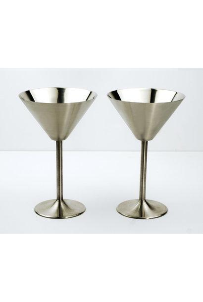 Martini Glasses S/S Set/2
