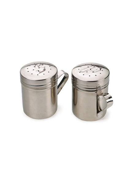 RSVP Salt & Pepper Shaker Set S/S