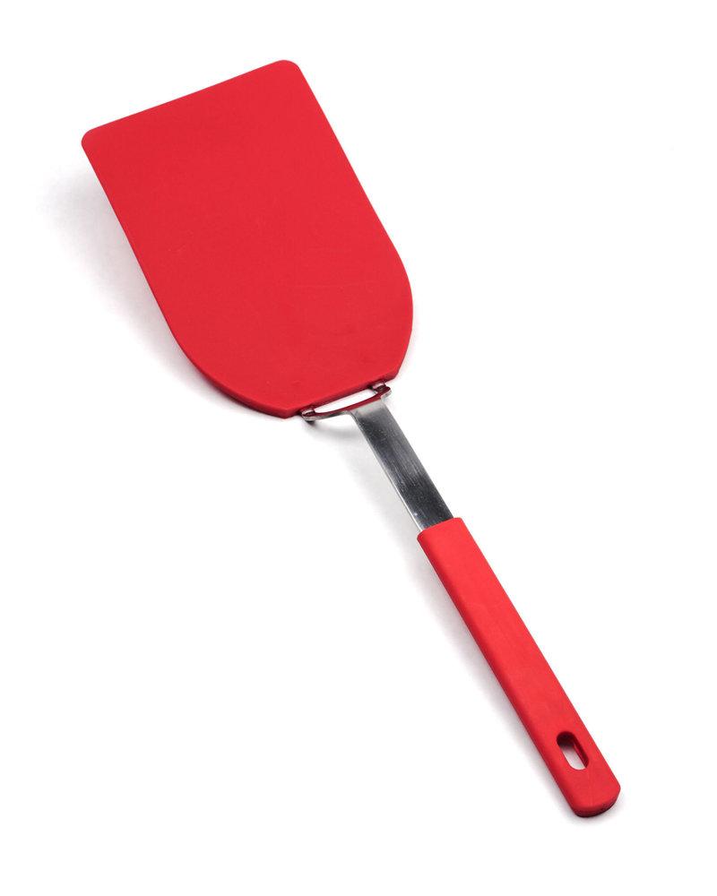 RSVP Spatula Red Lrg Fleixlbe