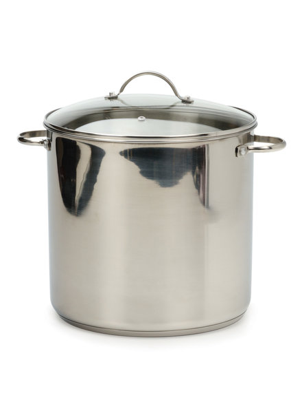 RSVP Stock Pot 16 QT S/S