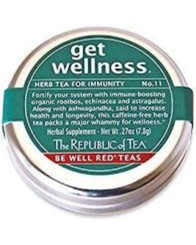 Republic of Tea Be Well Travel Tin ASTD
