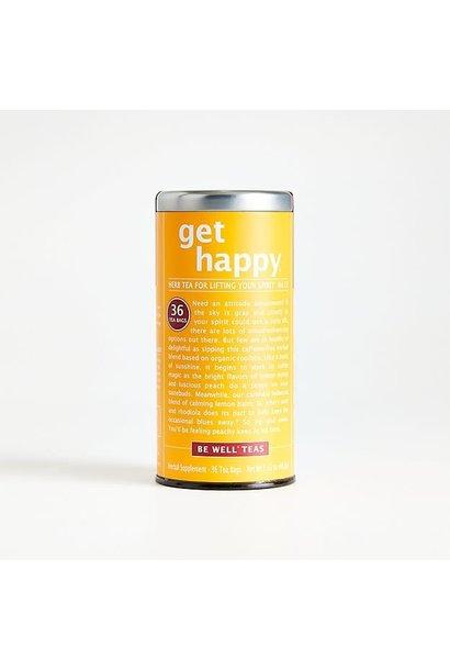 Be Well Tea Get Happy