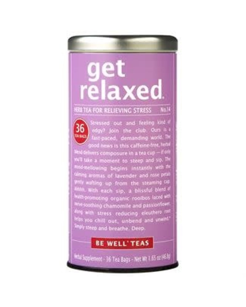 Republic of Tea BE WELL Get Relaxed