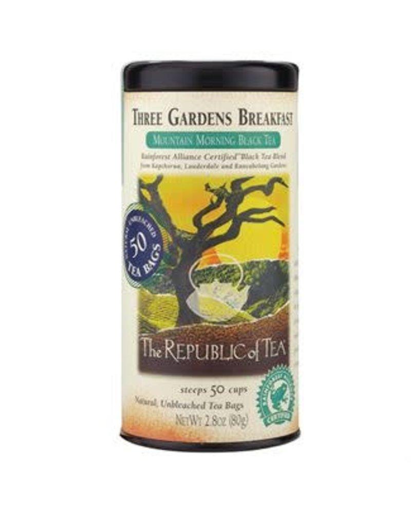 Republic of Tea Black Tea Three Gardens Breakfast